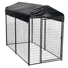 outside kennel/run with tarp roof metal