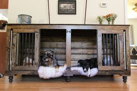 double wall crate/coffee table small medium dogs